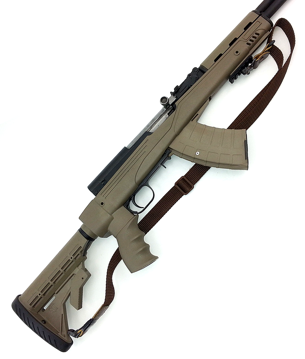 SKS Russian with ATI Stock & Tapco Mag 2 – Doctor Deals
