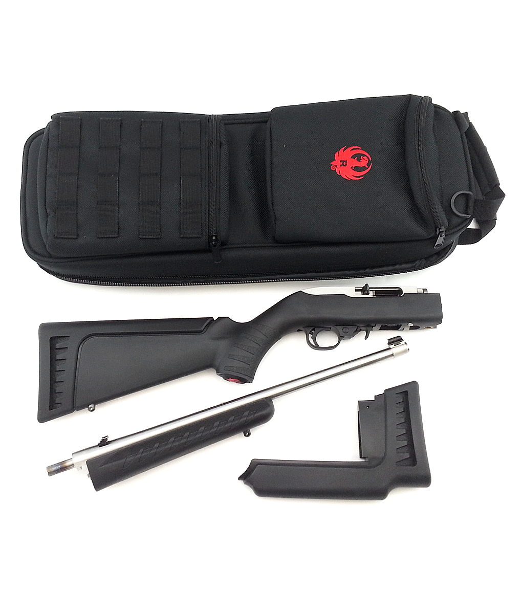 Ruger 10-22 Semi-automatic Takedown Modular Synthetic & Stainless Carbine