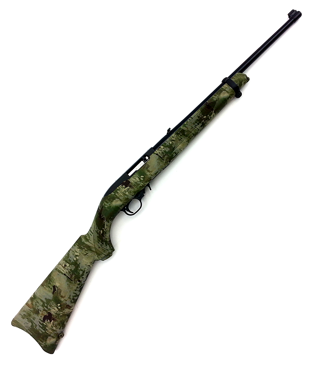 Ruger 10-22 Wolf Camo 22lr Semi-automatic Carbine