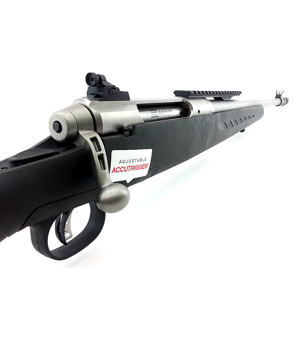 Savage Axis II Scout With Accu-Trigger, Peep Sight and Muzzle Break 7 62 x  39