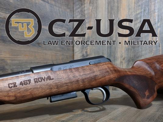 CZ 457 Royal 22lr Bolt Action Carbine