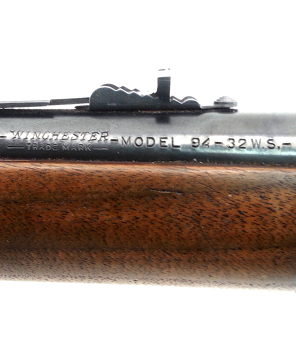 Winchester 1894 Lever Action Rifle 32 WS (used)